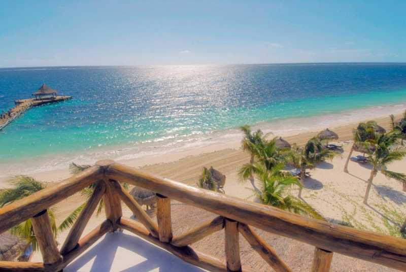 Panoramic view from a Penthouse Suite at Ceiba del Mar