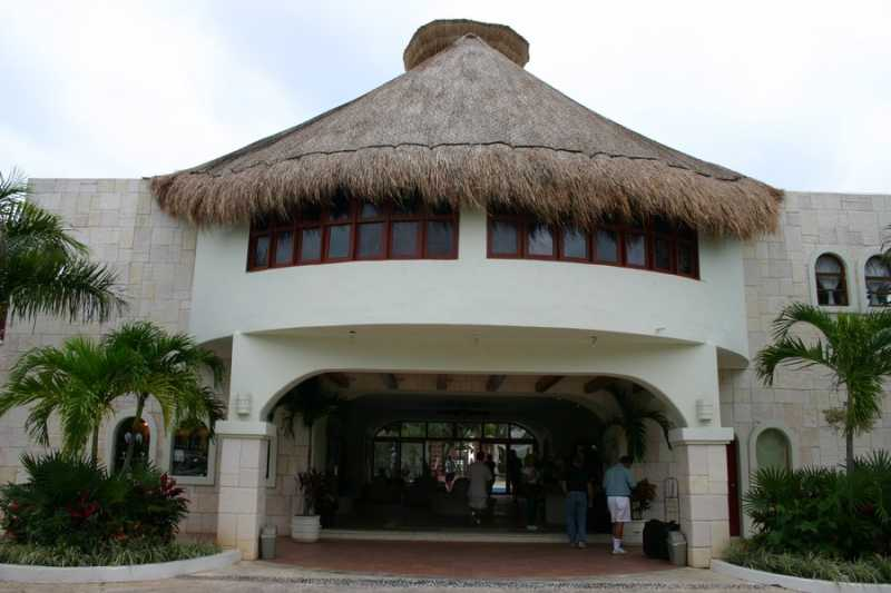 Main Lobby enterance to Desire Resort and Spa Riviera Maya