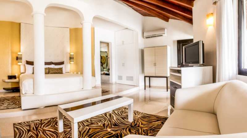 Junior Suite Ocean View at Desire Resort and Spa Riviera Maya
