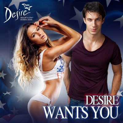 Desire WANTS YOU