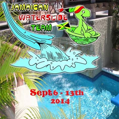 Jamaican Waterslide Team 2014