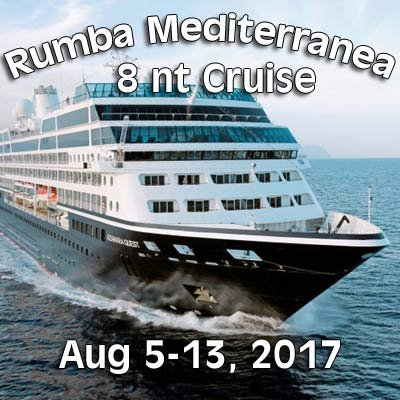 Rumba Mediterranea 8 Night Cruise at Desire Resort Riviera Maya