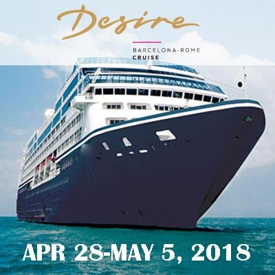 Desire Barcelona Cruise at Desire Resort Riviera Maya