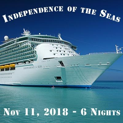 Independence of the Seas 2018 Caribbean Cruise at Desire Resort Riviera Maya
