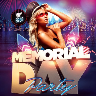 Memorial Day Party at Desire Resort Riviera Maya