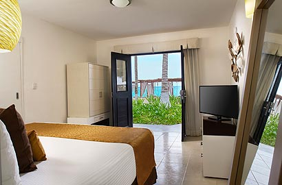 Deluxe Oceanview Room at Desire Resort Spa Riviera Maya