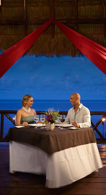 Romantic Dinner at Desire Resort Riviera Maya