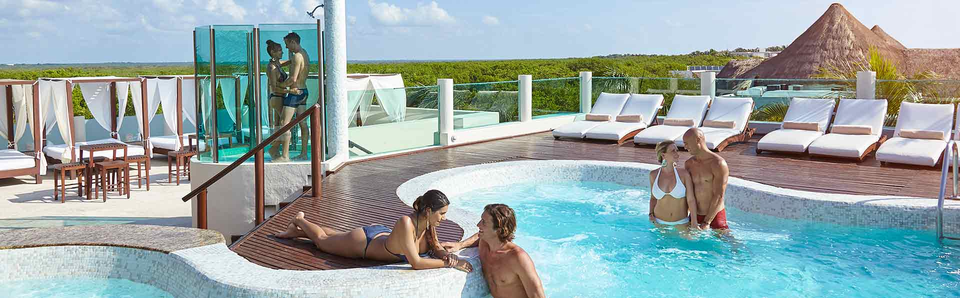 Desire Resort Rooftop Jacuzzi Lounge