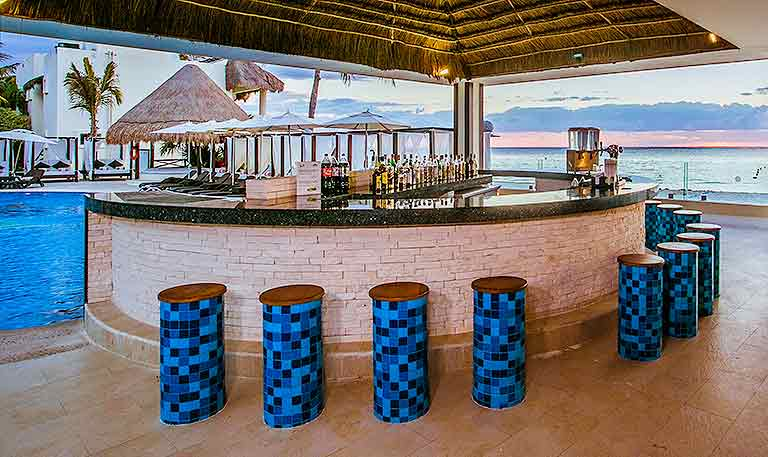 Desire Resort Riviera Maya Beach Bar