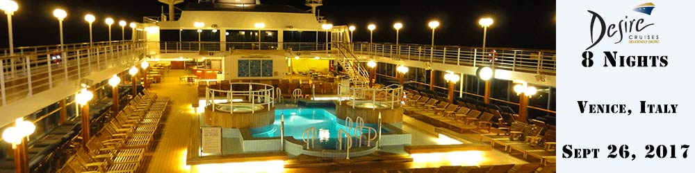 Azamara Quest Desire Cruise 2017 - 8 Nights from Venice, Italy